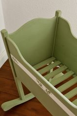 free downloadable pdf on how-to make a baby-bed ~ Landlust - Aktuelle Anleitungen und Adressen