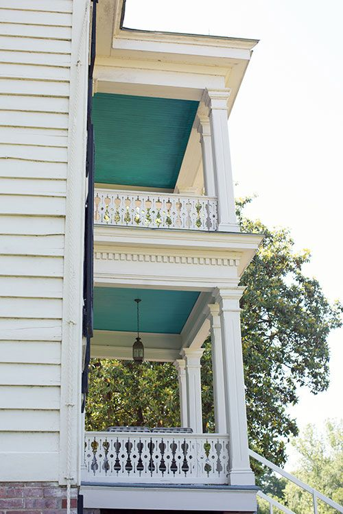 Perfect Porch Ceiling Colors | Garden and Gun