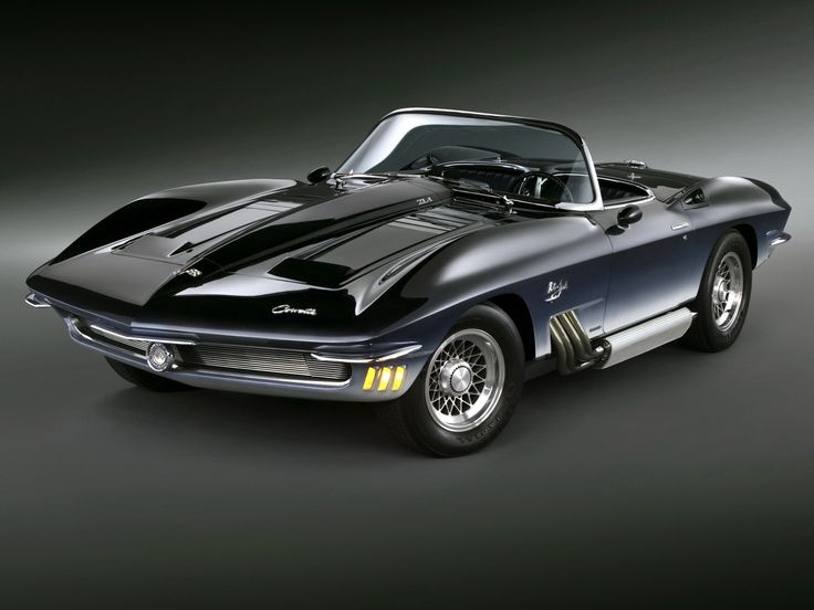 1962 Corvette Mako Shark / For more beauty in your life ♥ Visit www.glueckstueck.com and be a Fan: www.facebook.com/glueckstueck