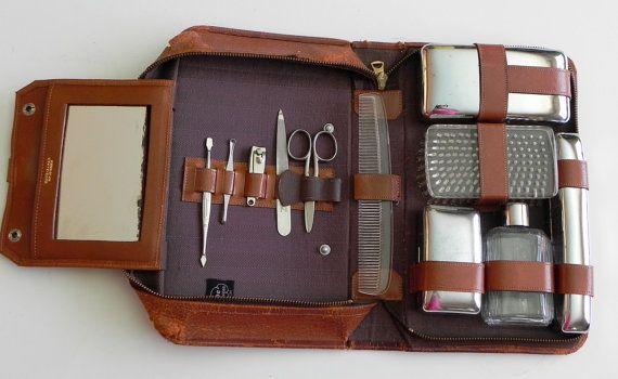 Vintage 50s Men S Grooming Kit By Progressive Gentlemen S