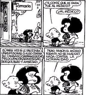 Mafalda, by Quino.