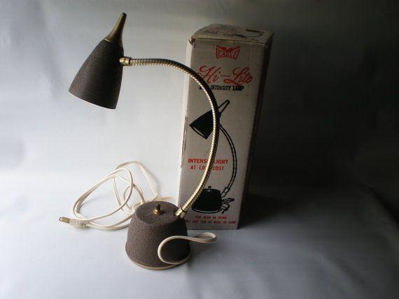 17 Best images about Vintage Desk Lamps – High Intensity Desk Lamp