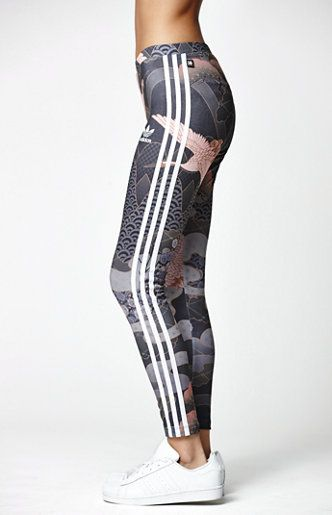 Adidas by Rita Ora Kimono Print Leggings