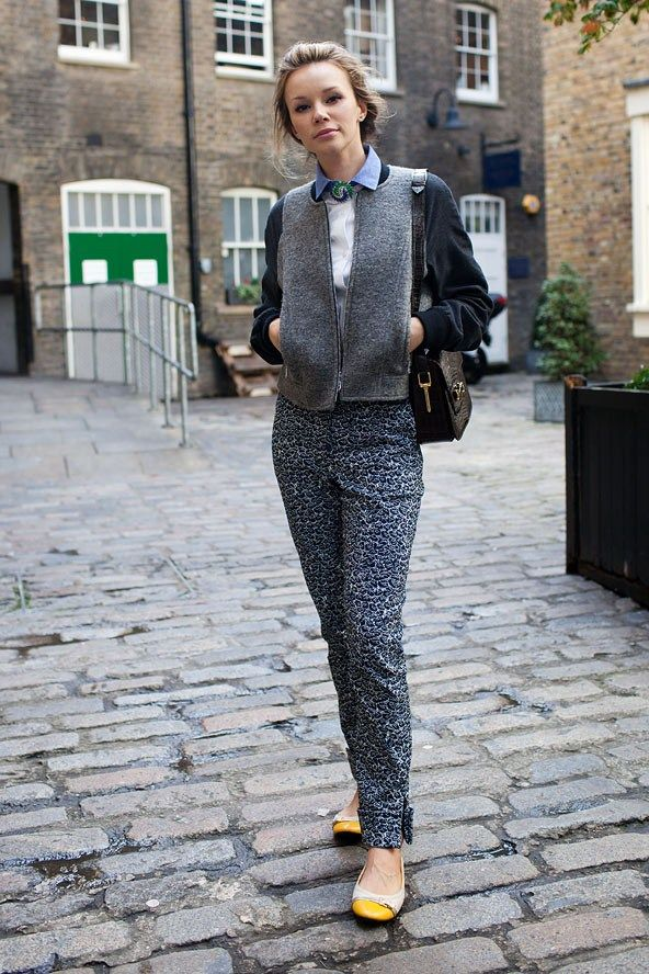 Street Style Photoblog Fashion Trends Yana Aintabi London Street Fashion Pinterest