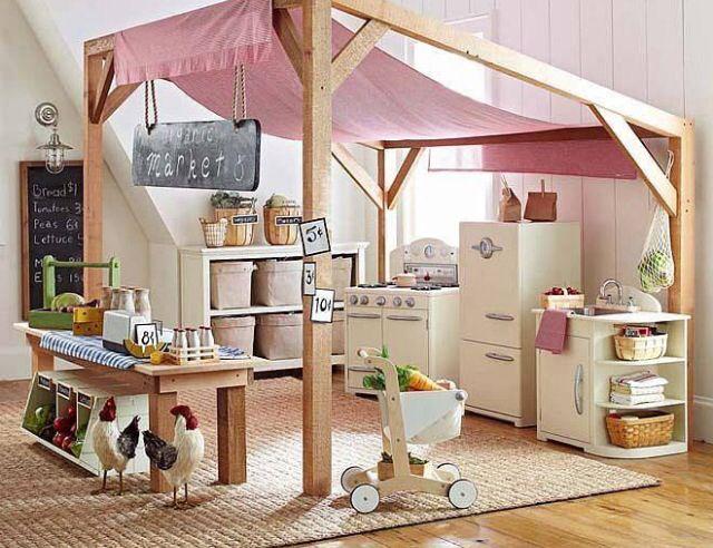 Little girl paradise-home playroom inspiration