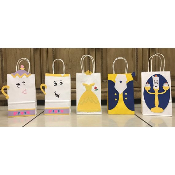 Beauty and the Beast Party Bags Belle Beast by PerfectlyBoutique