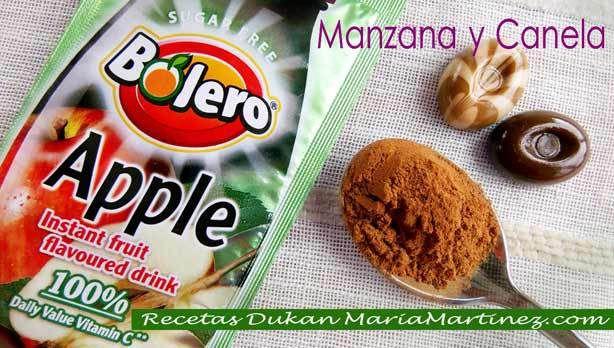 Recetas Dukan con Tofu: Manzana y Canela