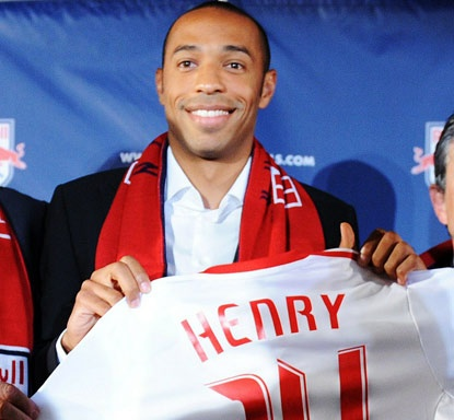 MLS NY Red Bulls #14 - Thierry Henry