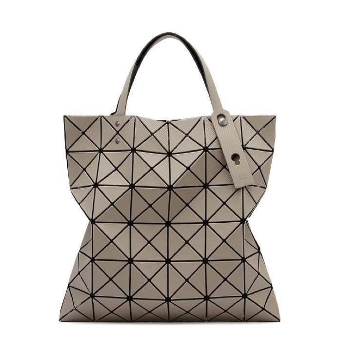 Bao Bao By Issey Miyake Lucent Twill Tote Bag Matte Twill Beige Issey Miyake Bag Bags Tote Bag