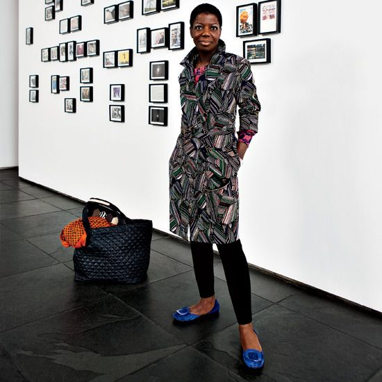 Thelma Golden photographed at The Studio Museum in Harlem for T+L