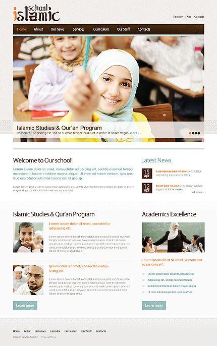 Islamic School WordPress Themes by Mercury