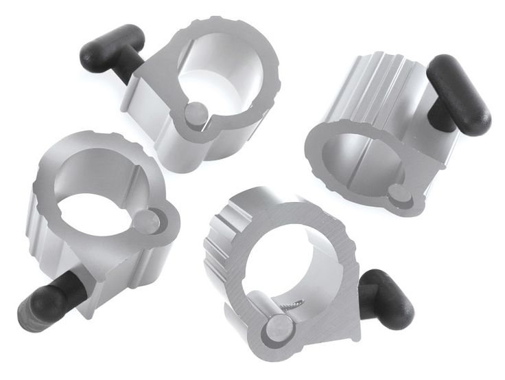 Bulldog Power Clamp Olympic Barbell Collars made from extruded aluminum at Ironcompany.com