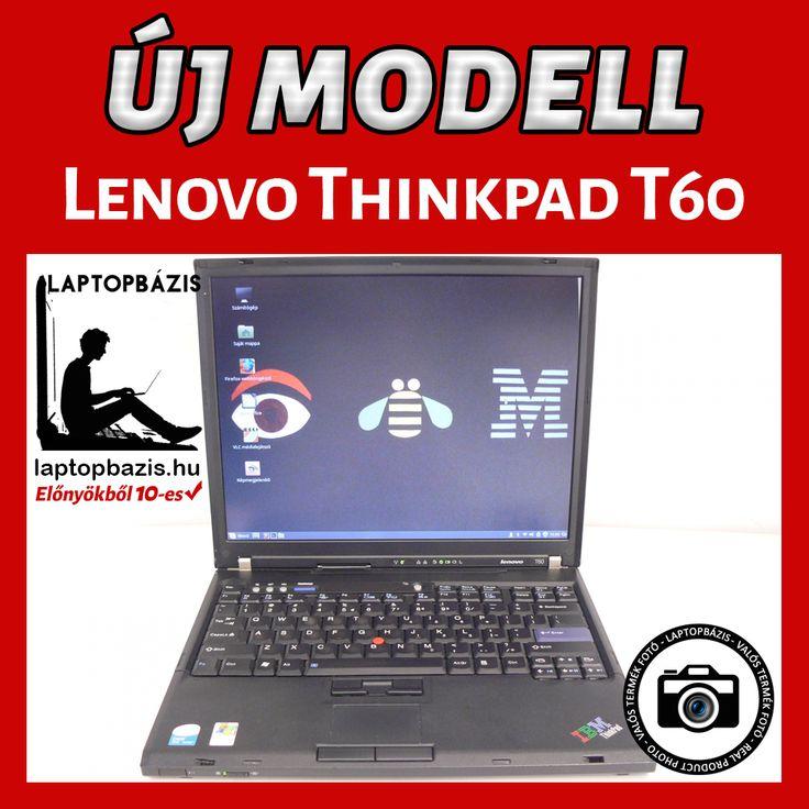 Lenovo Thinkpad T60 http://laptopbazis.hu/termek/lenovo-thinkpad-t60-laptop-intel-core-duo-t2400-processzor-141-lcd-kijelzo-dvdrom-wifi/422