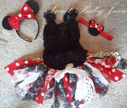 簡単!かわいい♡ミニーちゃんのハロウィン衣装~大人も子供もOKな『チュチュ』スカートの作り方~   MimiLy