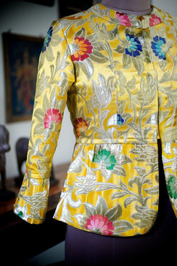 Tenzin Yangzom Gyanta Brocade Jacket in Beautiful by kinchebyPayal