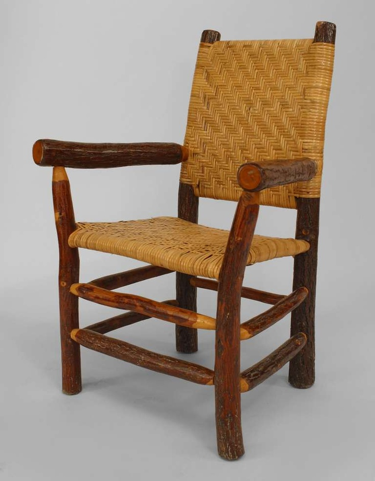 Rustic Armchair Old Hickory Furniture, Hickory Furniture Company