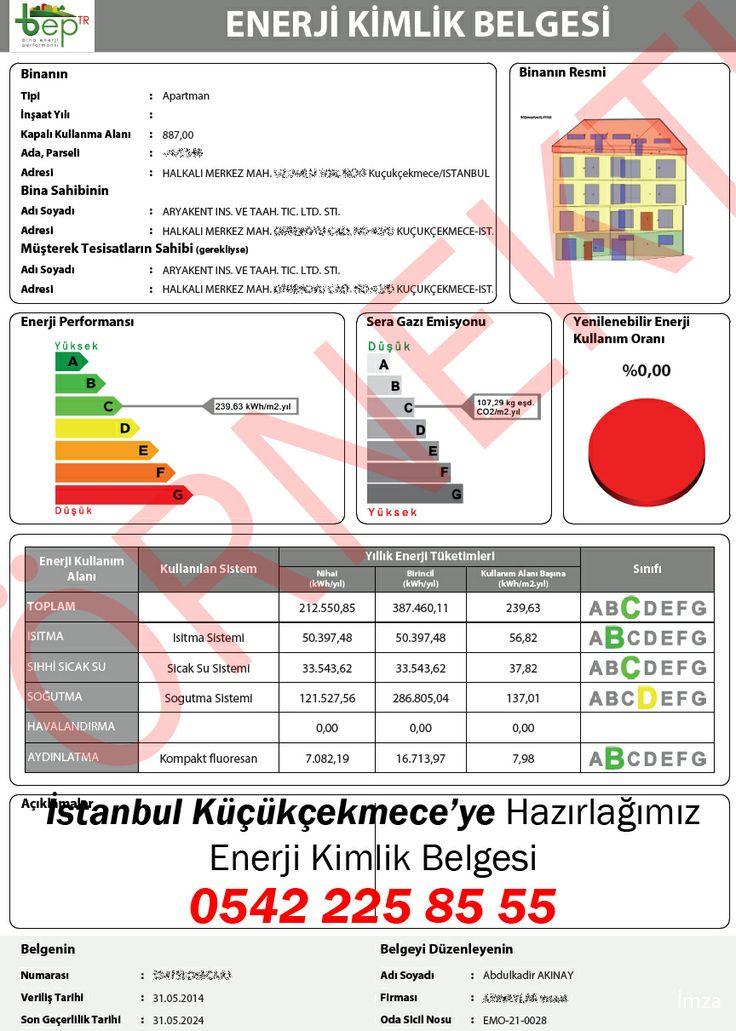 İstanbul Küçükçekmece'de Aryakent İnşaat'a ait binanın enerji kimlik belgesi'ni biz hazırladık! İstanbul iline hazırladığımız enerji kimlik belgesi örneklerini incelediniz mi ?, http://www.enerjikimlikbelgesiburda.com/enerji-kimlik-belgesi-referanslar/turkiye-il-il-hazirladigimiz-belgeler/marmara-bolgesi/istanbul/ Alo EKB   0542 225 0 555