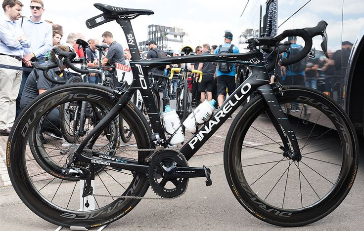 Check Out Chris Froome's Pinarello Dogma F10 http://www.bicycling.com/bikes-gear/2017-tour-de-france/check-out-chris-froomes-pinarello-dogma-f10
