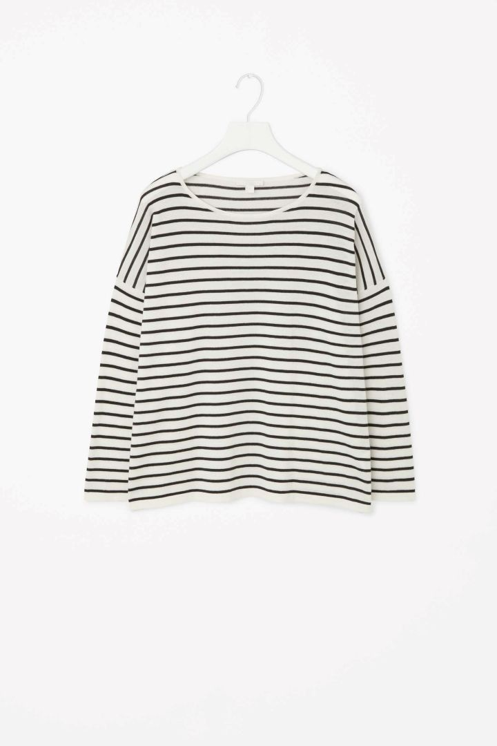 COS - Relaxed striped jumper