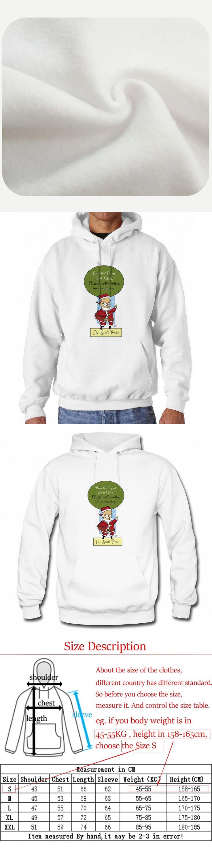 Babaseal The James Randi Prize If Randi Were Santa Casual Flag Hoodies Punk Boys Print Letter Sweatshirt Hip Hop Velour Hoodie