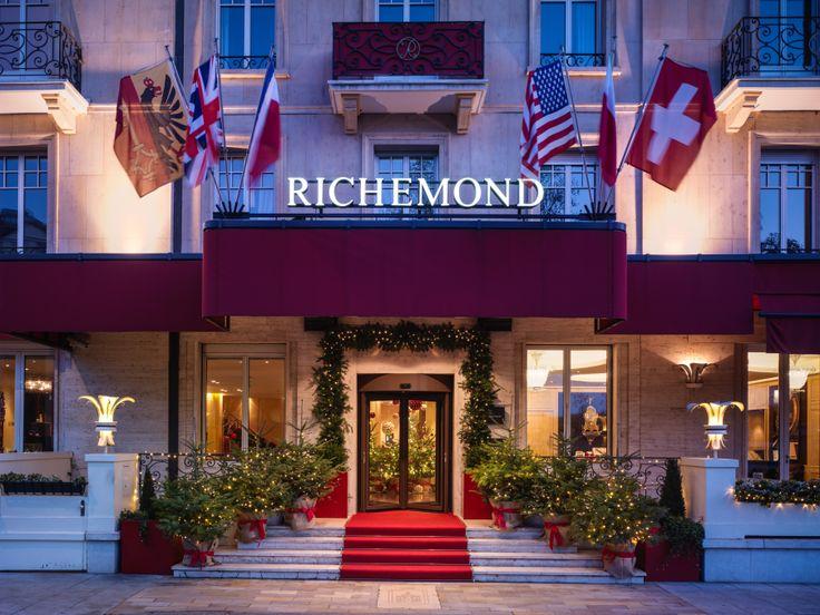 @Le Richemond Festive entrance