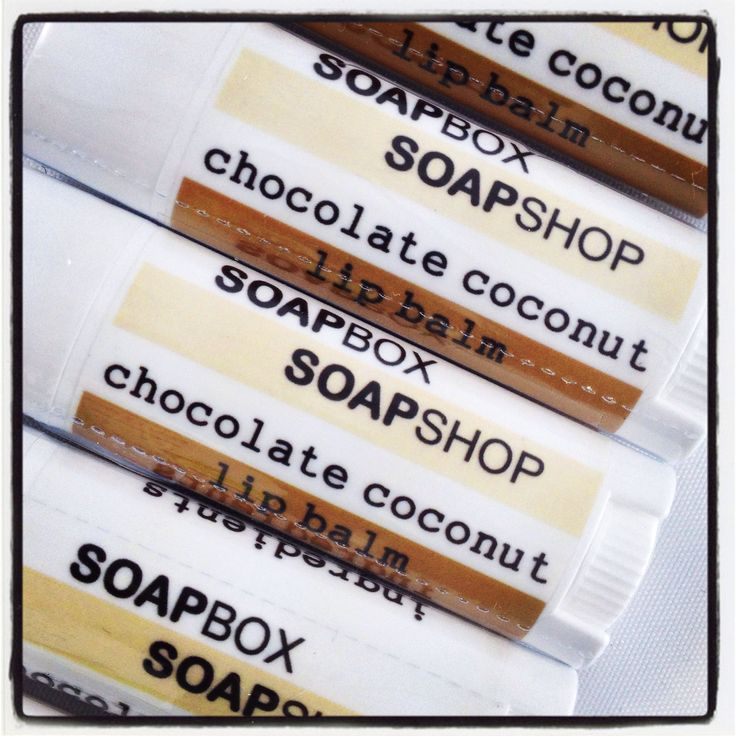 Chocolate Coconut Lip Balm CHECK. that's all