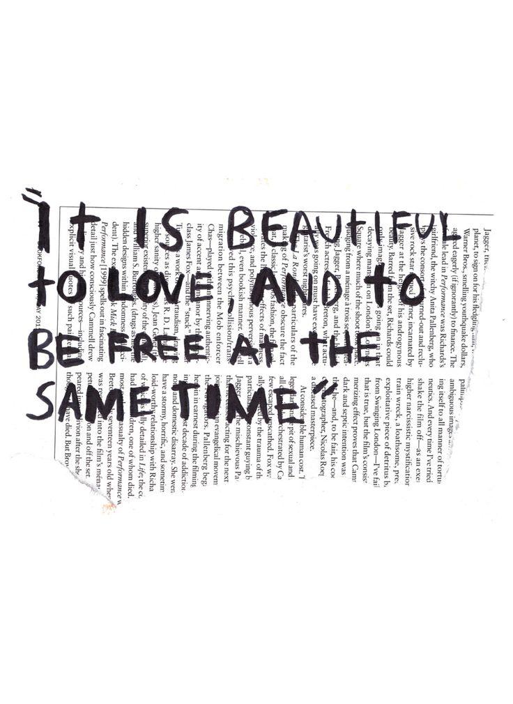 love / freedom