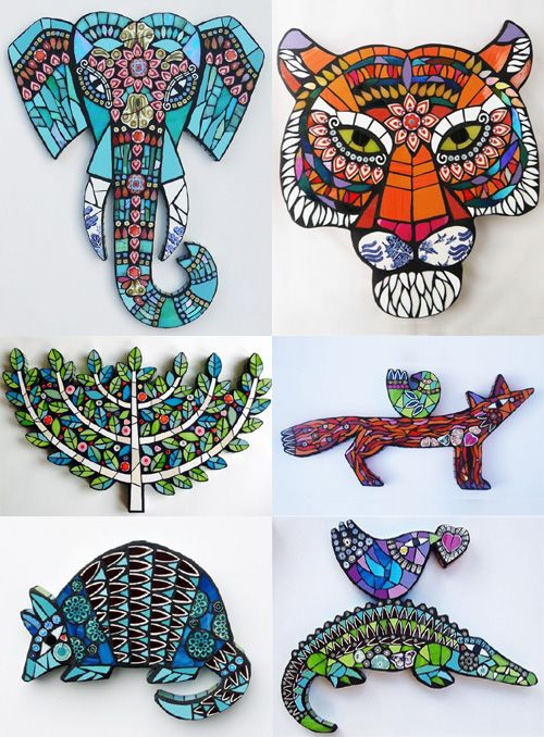 Amanda Anderson  is a very talented mosaic maker based in the West Midlands who hand crafts menagerie of owls, birds and o...
