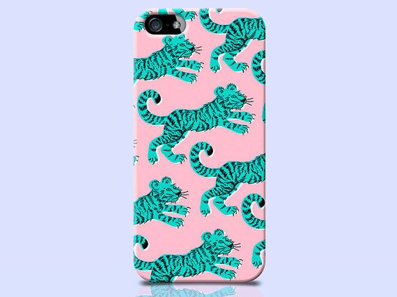 Pink Tiger iPhone 5c Case Tiger iPhone 5c by TheSmallPrintCases