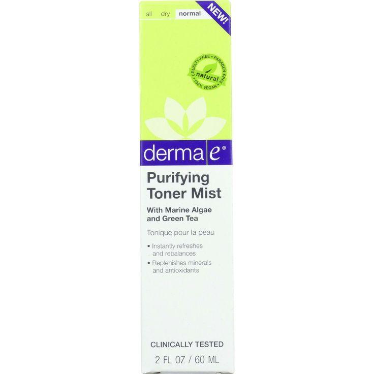 Derma E Toner Mist - Purifying - 2 oz