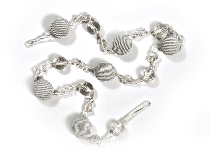 BAUBLE ROPE BLING  WHITE - R10 - (x2)