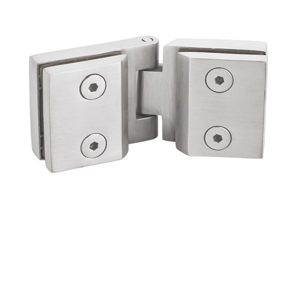 Shower Door Glass to Glass Hinges 180 Degree SS 304 Innotec
