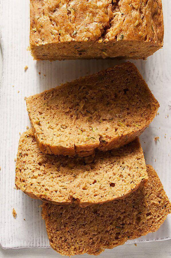 Vegan Zucchini Bread Recipe In 2020 Baking Recipes Vegan Zucchini Bread Healthy Baking