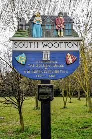 South Wooton village sign