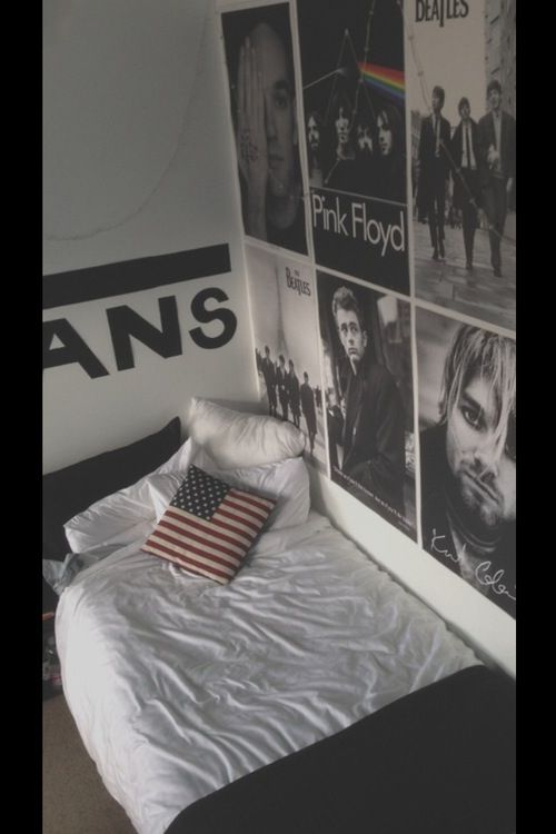 Hipster room | bedroom | Pinterest | Rock n roll, Ideas ...