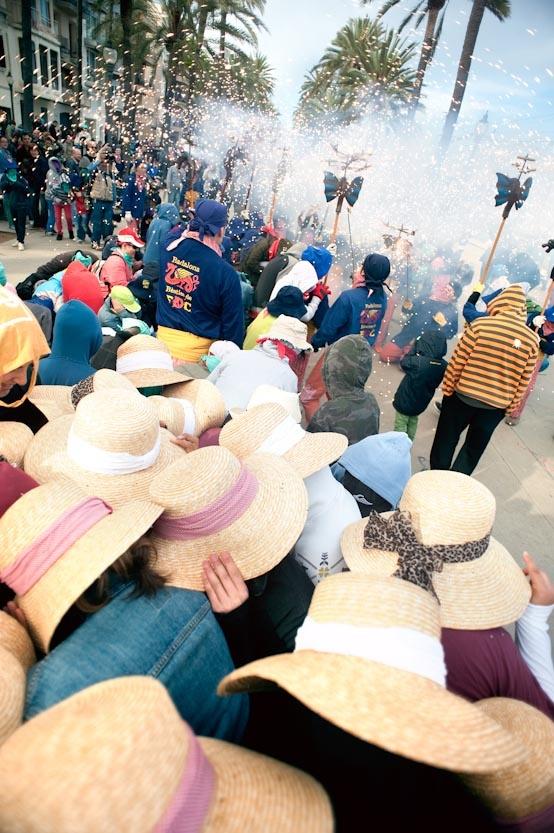 Correfoc infantil  Festes de Maig Badalona