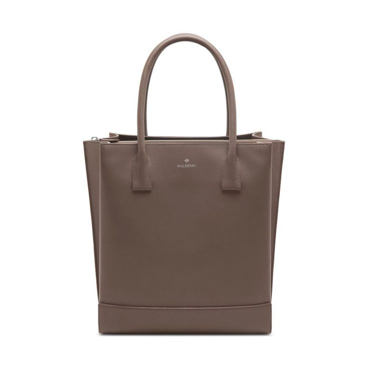 Arundel Tote in Taupe Calf Nappa | women | Mulberry
