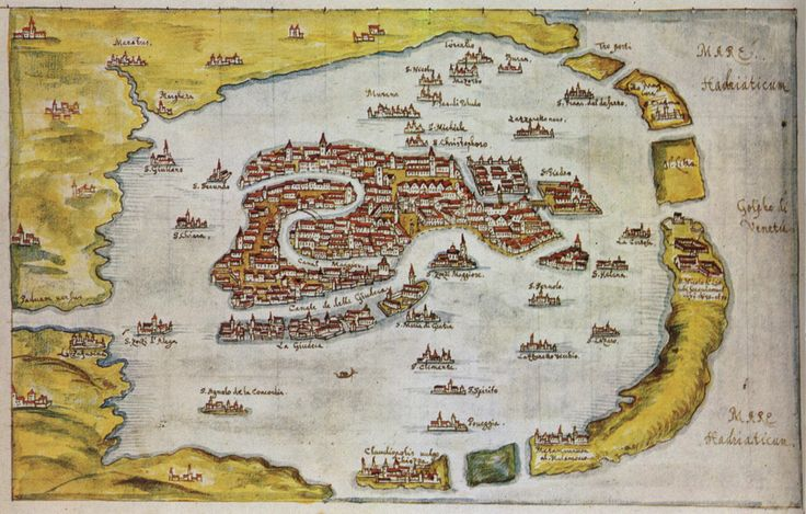 Plan de Venise - 1649 - Gabriel Bucelin