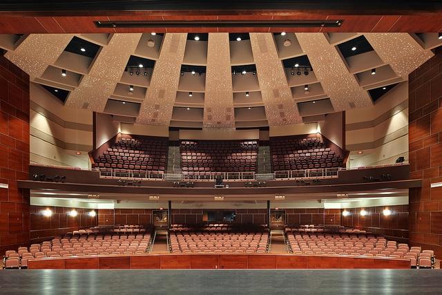 Moon Area High School Auditorium by Nello Construction Company, via Flickr