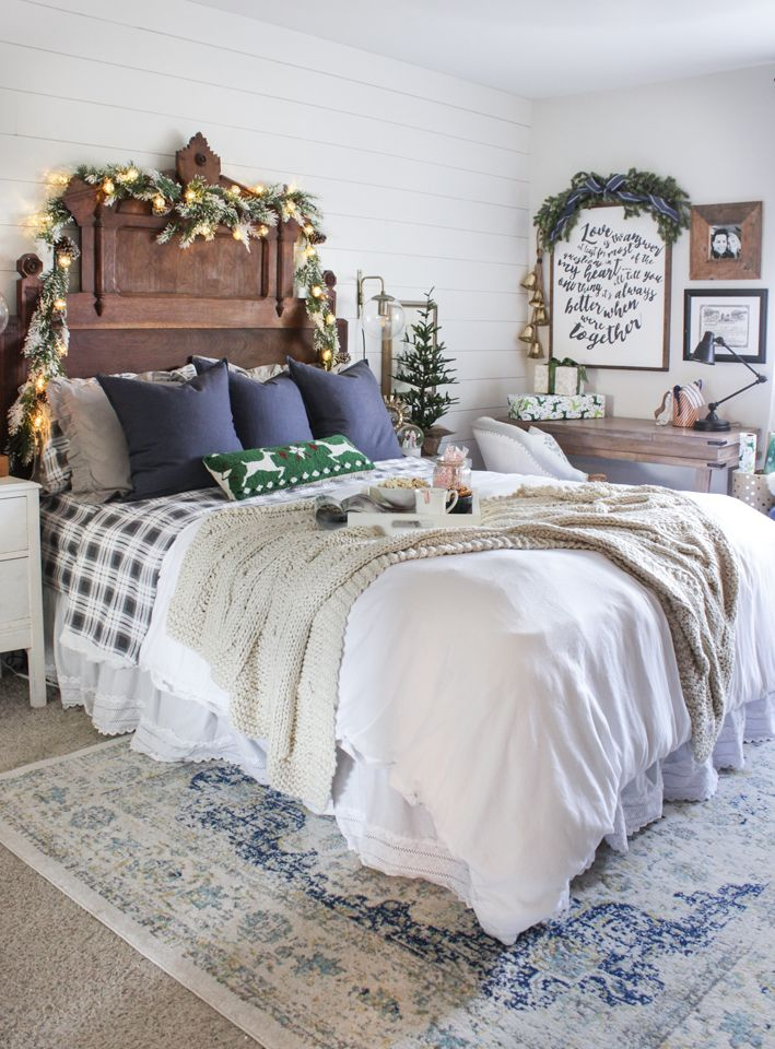 48 best Christmas Bedroom Decor images on Pinterest Green valley