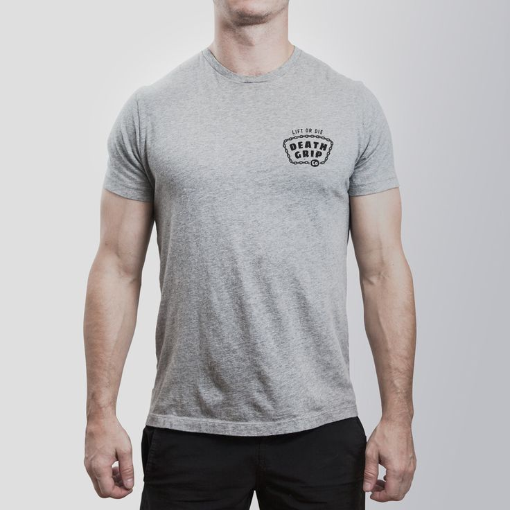 Off the Chain Tee // Grey