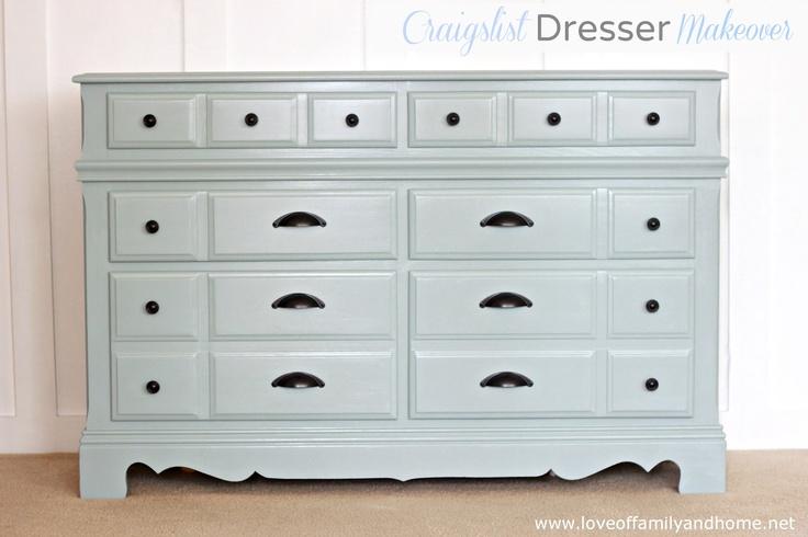 Love Of Family & Home: My Craigslist Dresser Makeover Reveal....