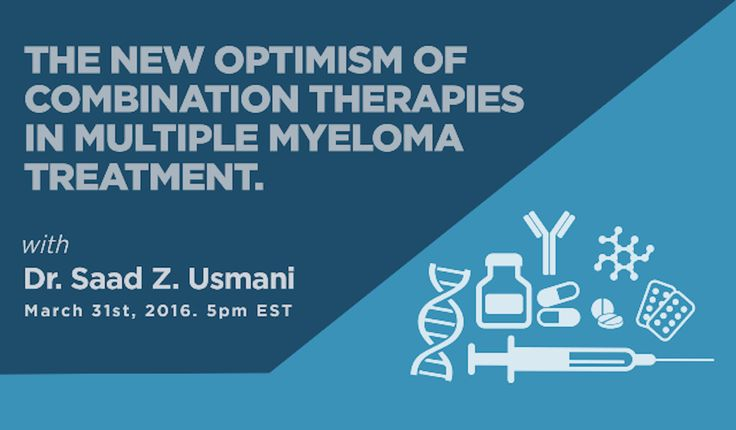 Clinical trials of new combination therapies are showing promising results and can be a game changer in myeloma treatment - Combining standard drugs with monoclonal antibodies, t-cell therapies with stem cell transplants, myeloma vaccine combinations and more. We talked to Dr. Saad Usmani on the most relevant combination therapies and new myeloma treatments in the works patients should keep track of.