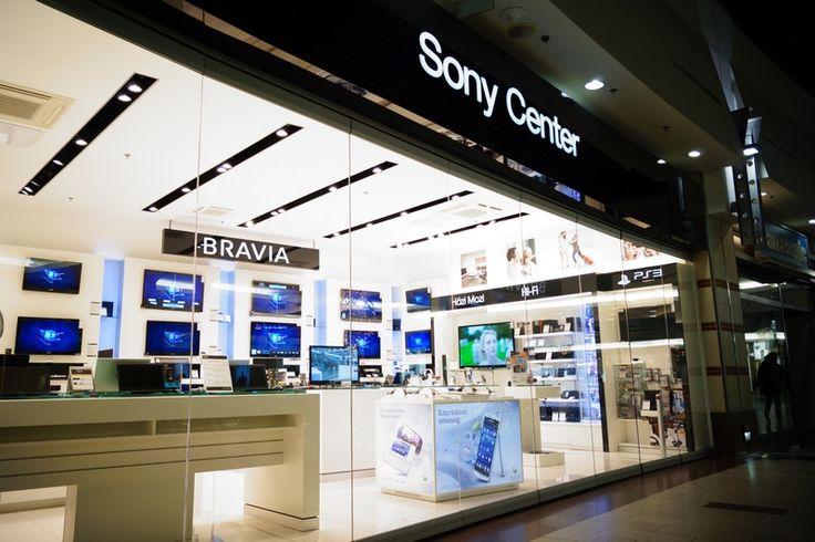 SONY Center, Budapest WestEnd City Center bútorgyártás, belsőépítészeti kivitelezés www.deco-design.hu