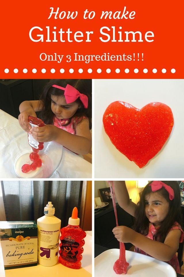 how to make slime instructions