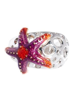 Image 2 ofBill Skinner Aquatic Starfish Ring