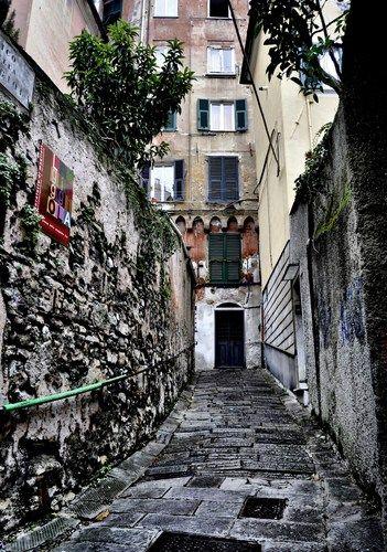 Genova - Il piccolo borgo genovese del Carmine - Paola Chiarella