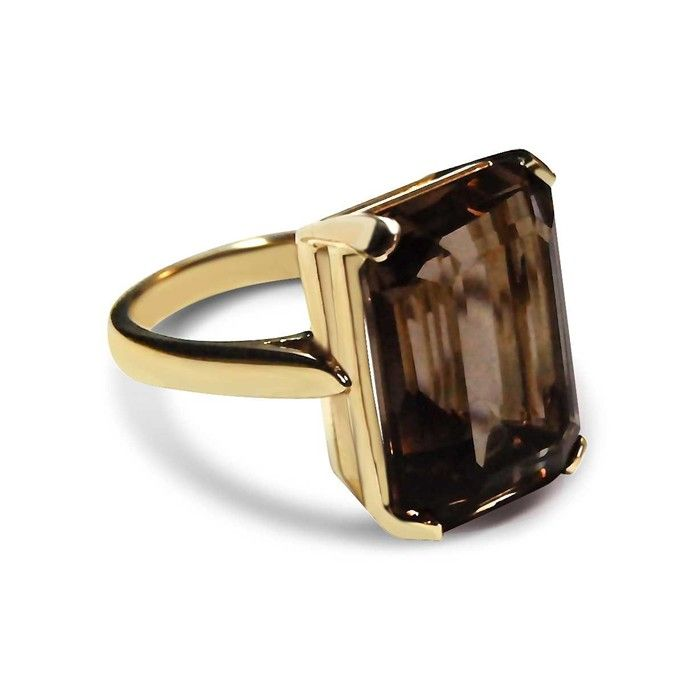Bear Brooksbank Smoky Quartz Ring