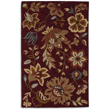 Linden Street Chunky Loop Wool Rectangular Rugs Jcpenney