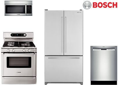 Best Bosch Stainless Kitchen Appliance Packages: Reviews/Ratings/Prices